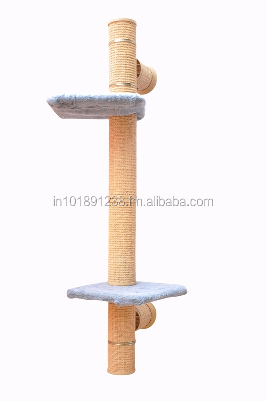 NO 10 WALL MOUNTED CAT TREE ( Catwalk system)