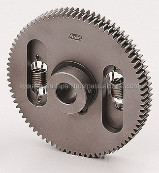 Anti backlash spur gear Module 0.8 Carbon steel Made in Japan KG STOCK GEARS