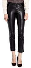 Sexy Ass Sex Ladies Leather Leggings Red Leather Pants For Women