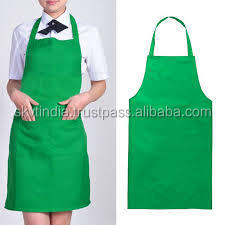 100% superior cotton aprons in apron
