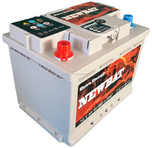 "High end 55 Ah din type ""made in Turkey"" L2B size car battery"