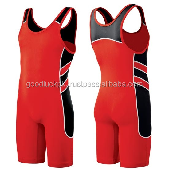 wrestling singlets - 2014 custom design cheap wrestling singlets for sale/gym singlet made of solid and striped