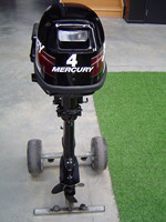 USED MERCURY 6 HP 4 STROKE OUTBOARD MOTOR
