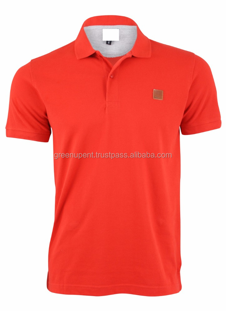 new style polo t-shirt custom polo t shirt men's cotton golf polo shirt t-shirts embroidery lacos te two color