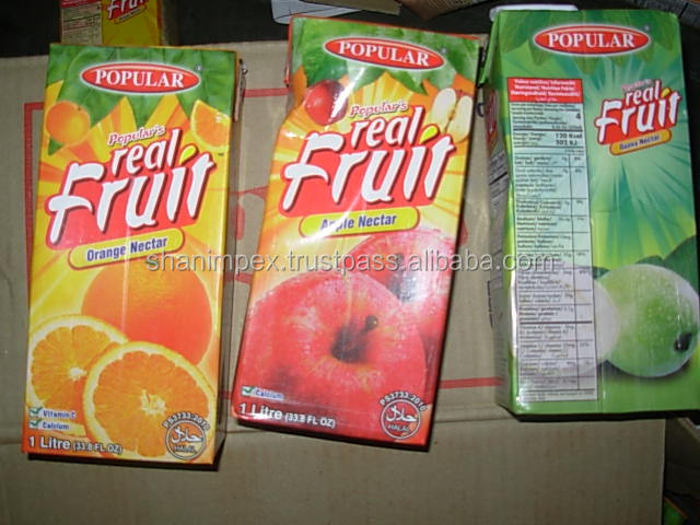 Real Popular Fruit Juice