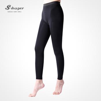 2f822df308c S-SHAPER Opaque Tights Medical Compression Stocking Top Slim Legging Slim  Tone Legging Beauty Leg