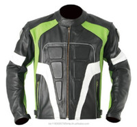 MOTORBIKE LEATHER RACING JACKET