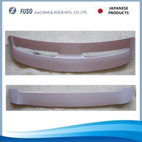 ISO 9001 certification various types of Japanese made molds for Roof Spoiler, small lot order available