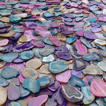 Wholesale Agate Polished Natural Agate Slices