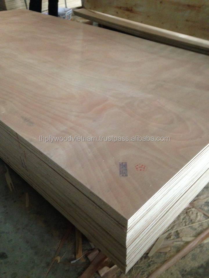 BIG SALE styrax plywood thickness 17.5mm size 1230mm x 2440mm, okume/bintangor face from manufacture