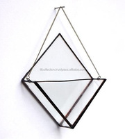 Glass Geometrical Box, Storage Box, Glass Box, Display Box, Wall Hanging Box, Jeweler Box, Glass Wall art, Wall Decor