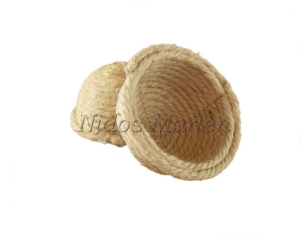 Nest of jute,sisal,cotton