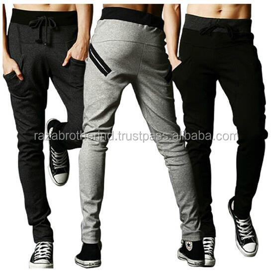 Drop Crotch Relax Sweatpants Slim Fit Camouflage Camo Mens Casual / Sublimation Printing