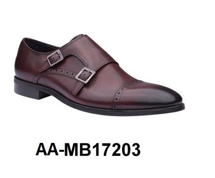 Genuine Leather Men's Dress Shoe - AA-MB17203