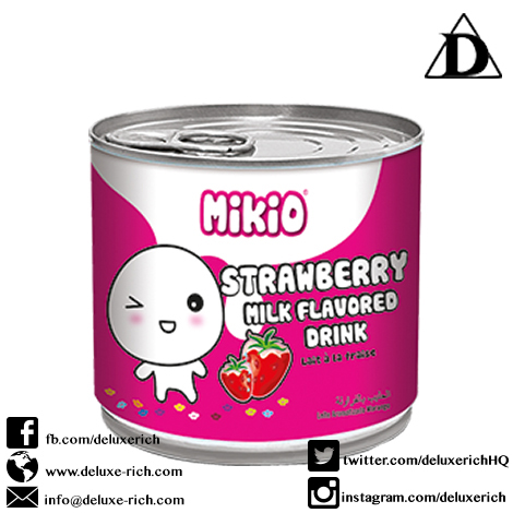 Strawberry Flavoured Milk