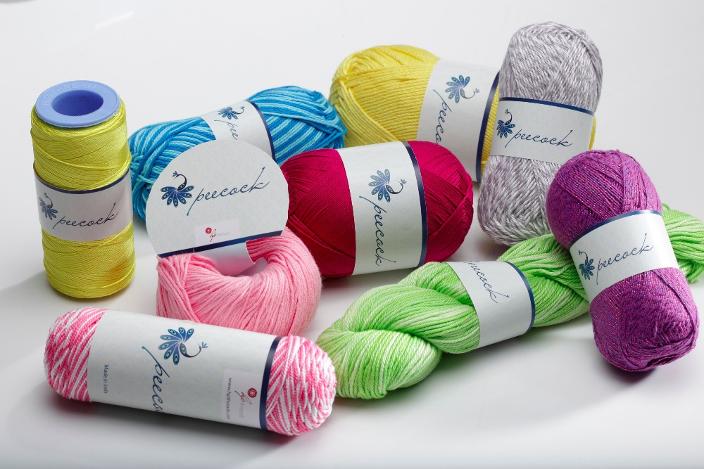 100% Cotton Gassed Mercerized Crochet Knitting Yarn