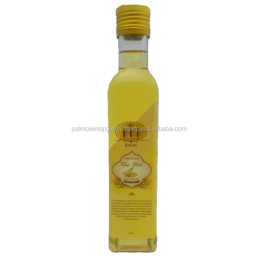 Rice Bran oil with Lemongrass oil cooking