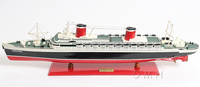SS UNITED STATES. NEW!! Wooden Model Navy Ships