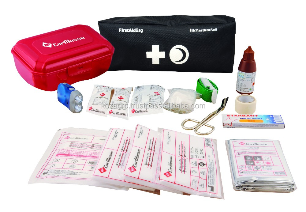 CarMesse Car First Aid Kit