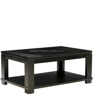 Modern Coffee Table with Walnut Finish and vintage model and style.