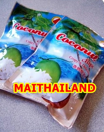Coconut Chips Snack Crispy From Thailand Coconut Chips 40g