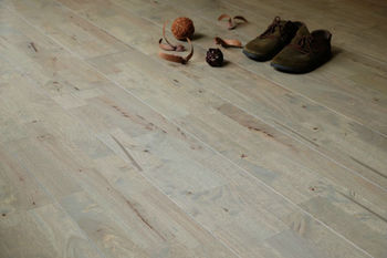 Solid Wood Flooring Gray colour