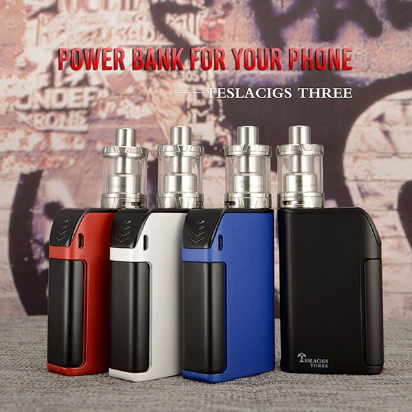 New products Tesla Tank designed for Teslacigs Stealth 40W Tesla Shadow 2ML TC Tank