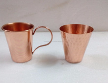 Manufacturer of Copper Shot Glass From India