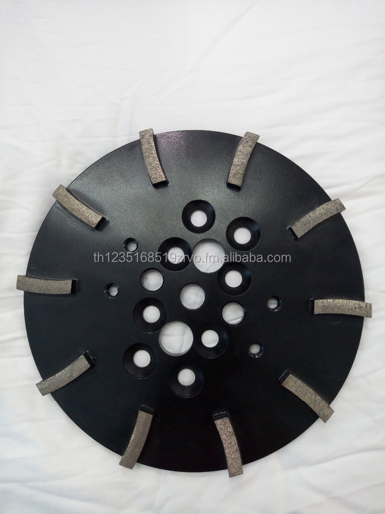 stone floor grinding pad for terrazzo flooring and other building materials.