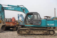High Quality Cheap Price Japan SK200 Kobelco Used Crawler Excavator