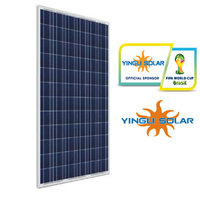 High efficiency Yingli 250w-260w poly solar panel