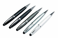 Luxury metal carbon fiber ball pen with stylus touch