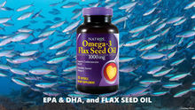 Omega 3 with Flax Seed Oil 10000120 soft capsules / For 60 days