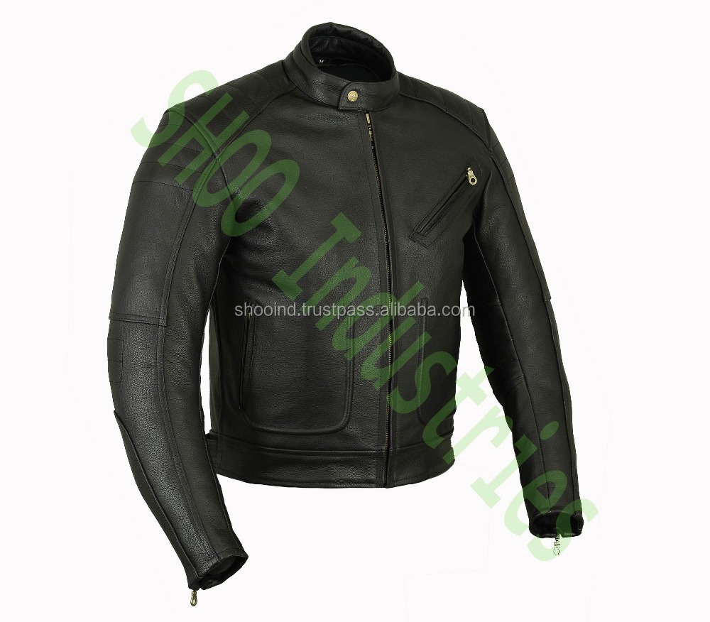Wholesale Motorcycle Racing Leather Jacket