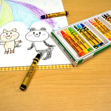 Easy to use and High capacity kawaii stationery crayon for children from adults , craypas and color pencil also available