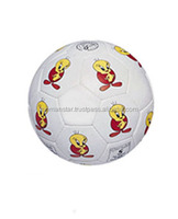 Wholesale PU Foam Promotional Football / Mini football / Mini soccer ball with cartoons logo for children