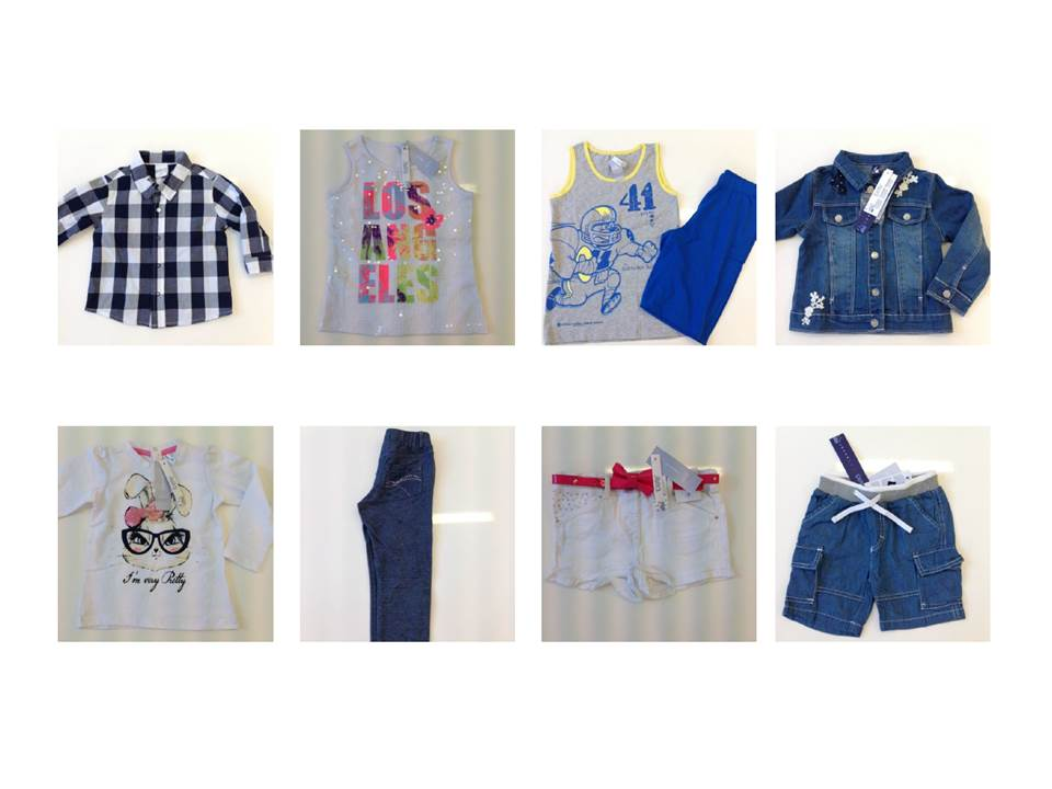 Stocklot European Children Clothing