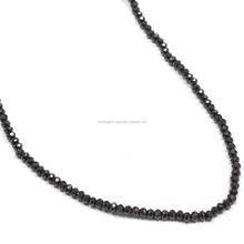 Natural Haxe Light Black Color Cut Small Size Handmade Beads