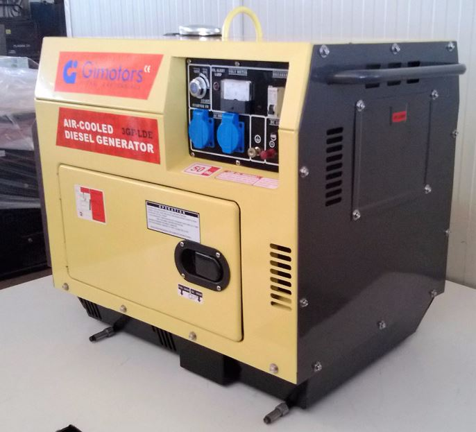 Diesel Generator Set 3GF-LDE Air Cooled 2800W silent electrical starter