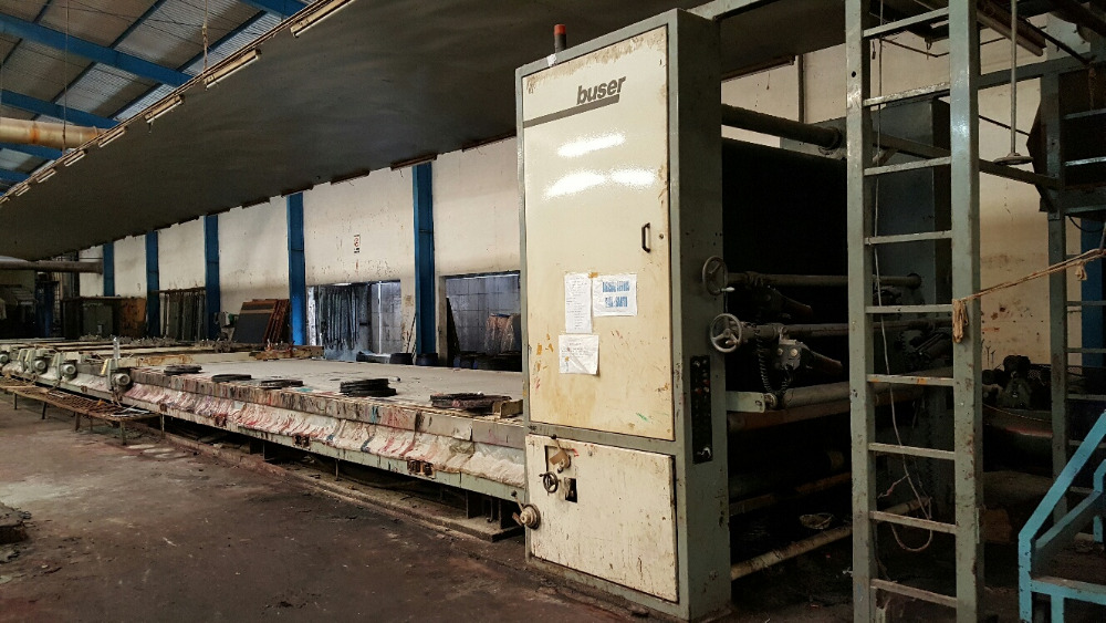 Buser Flat Machine