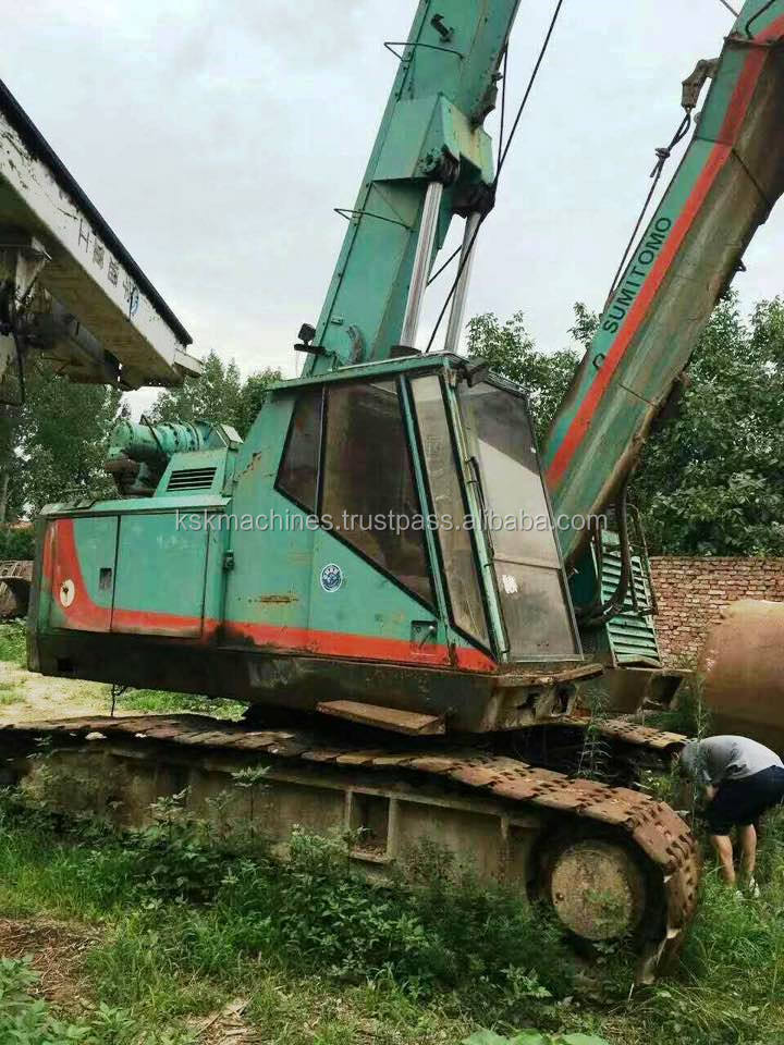 SD205 sumitomo pilling rig used rotary drilling rig from japan