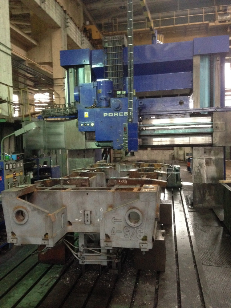 Plano Milling Machine, Convenctional