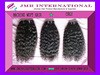 new fashion Professional finishing Curly weft hair 100% Unprocessed Remy Virgin indian hair
