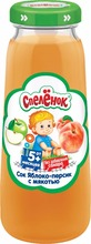 "0,2l ""Spelenok"" baby apple & pear juice with pulp made of concentrated juice"