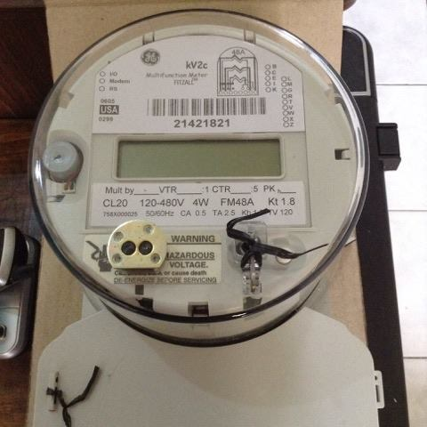 G.E Kilowatthour Meter KV2C all forms