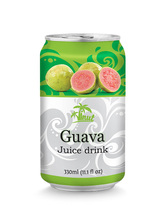 Halal, HACCP, ISO 2000 330ml Pink Guava Fruit Juice by VINUT Beverage
