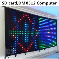 led signs indoor wholesale led video display video curtain