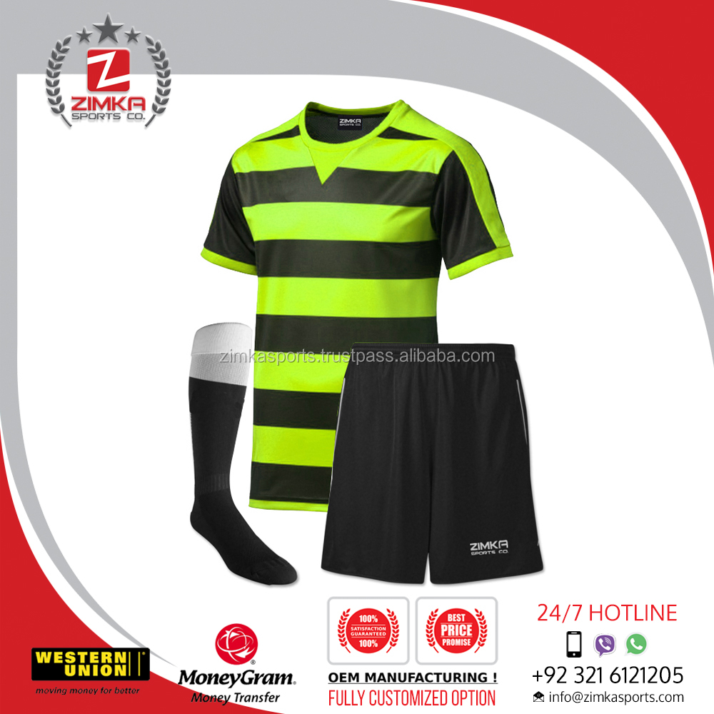 Football soccer uniform,soccer jersey yellow,jersey soccer