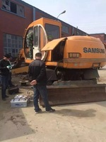 Used Samsung Wheel Excavator