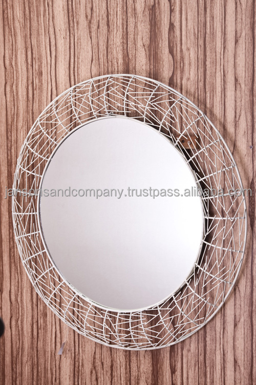 New metal wrought iron decorative wall mirror